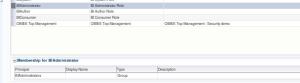 WLSEM - Application Roles - BIAdministrator - membership