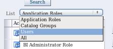 Catalog - folder - permissions - add options