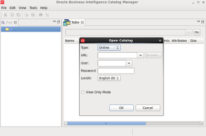 Catalog Manager - open