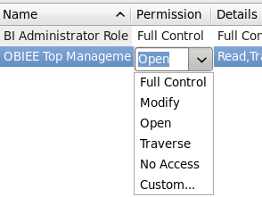 CM - permissions - options